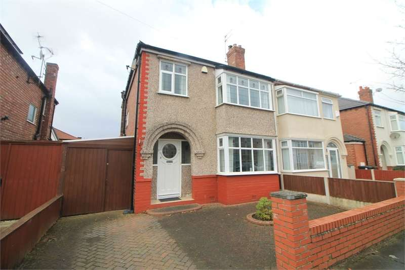 3 Bedrooms Semi Detached House for sale in Tithebarn Road, Crosby, Merseyside, Merseyside