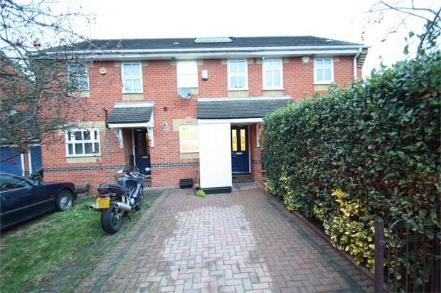 2 Bedrooms Terraced House for sale in Fletcher Close, Beckton, London