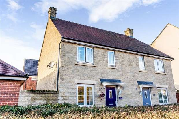 3 Bedrooms Semi Detached House for sale in Thursday Street, Swindon, Wiltshire