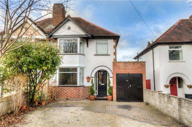 3 Bedrooms Semi Detached House for sale in Grosvenor Road, Whitnash, Leamington Spa, Warwickshire