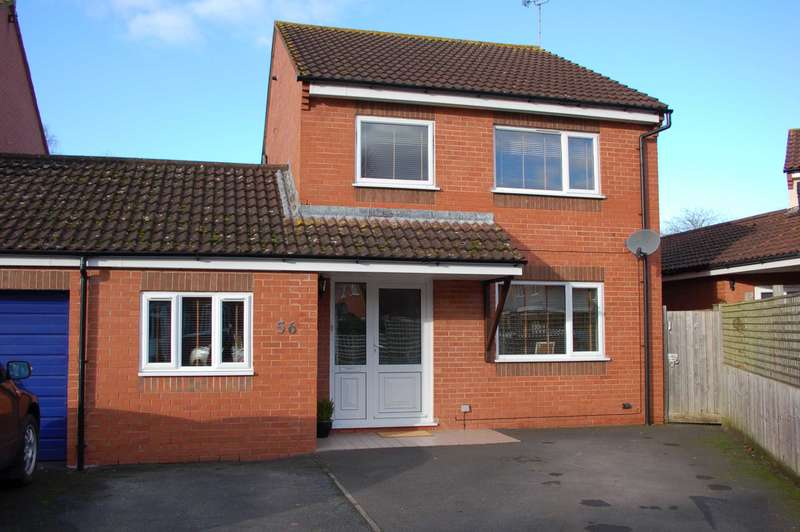 4 Bedrooms Link Detached House for sale in Dowell Close, Staplegrove