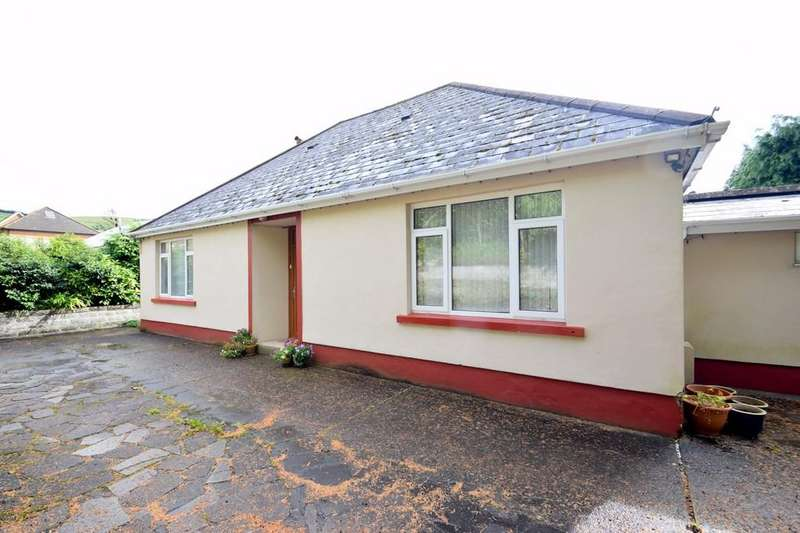 3 Bedrooms Detached Bungalow for sale in Tegfan, Blackmill Road, Lewistown, Bridgend, Bridgend County Borough, CF32 7HU.