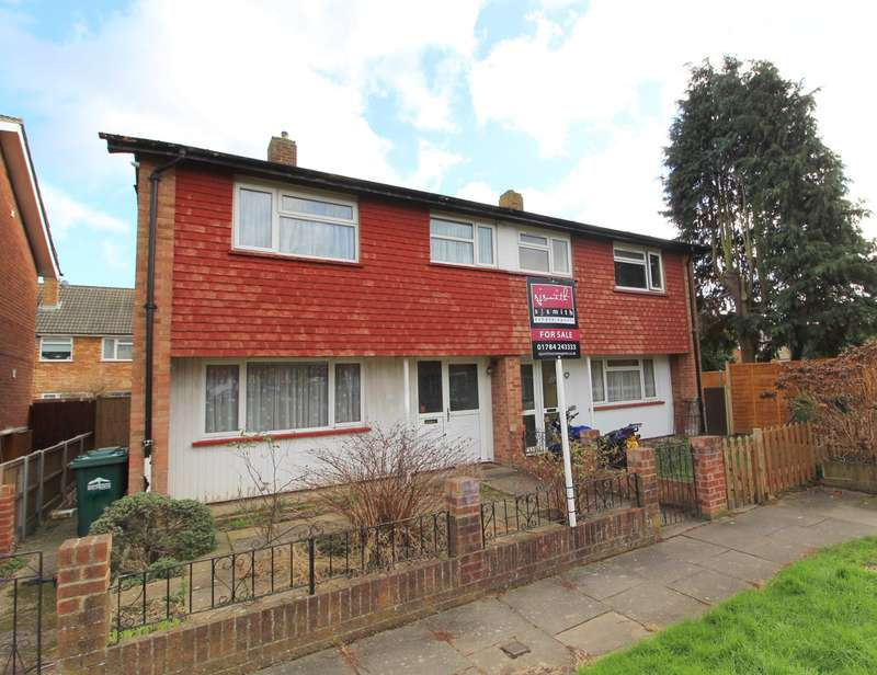 3 Bedrooms Semi Detached House for sale in Tudor Road, Ashford, TW15