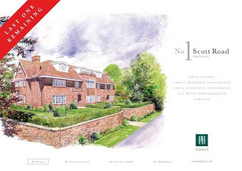 3 Bedrooms Apartment Flat for sale in Scott Road, Prestbury, Macclesfield