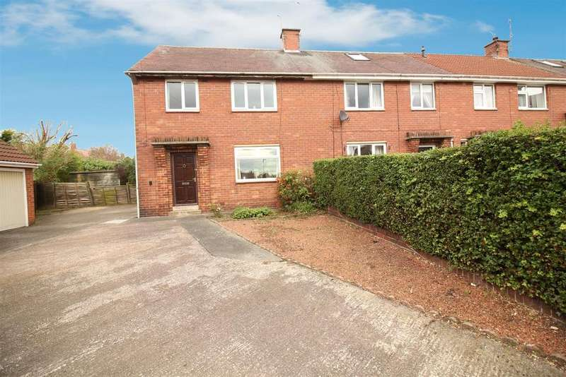3 Bedrooms End Of Terrace House for sale in Rothbury Gardens, Wallsend