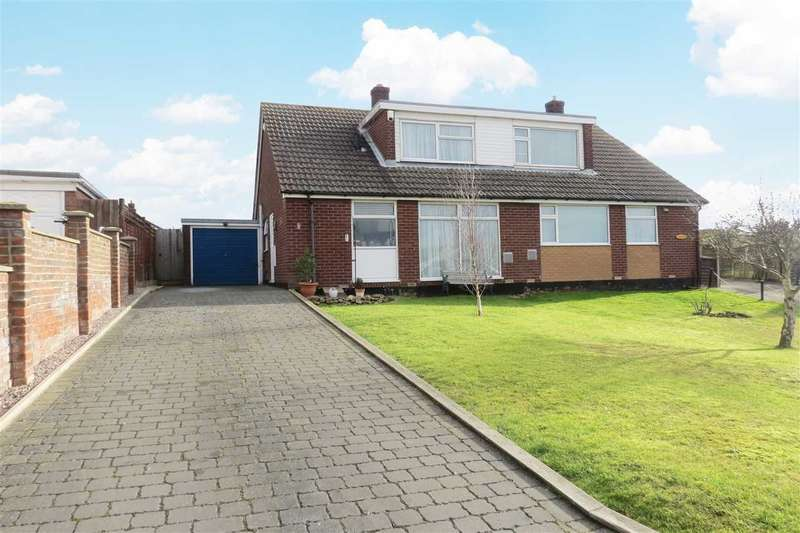 2 Bedrooms Semi Detached House for sale in Guthram Court, Cranwell