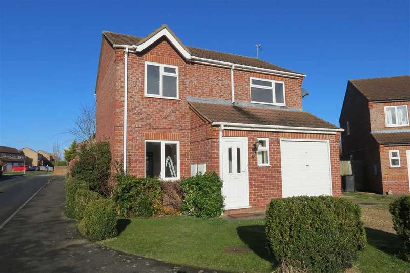 3 Bedrooms Detached House for sale in Lavender Close, Sleaford