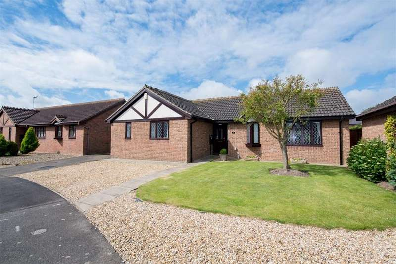 3 Bedrooms Detached Bungalow for sale in Charter Close, Boston, Lincolnshire