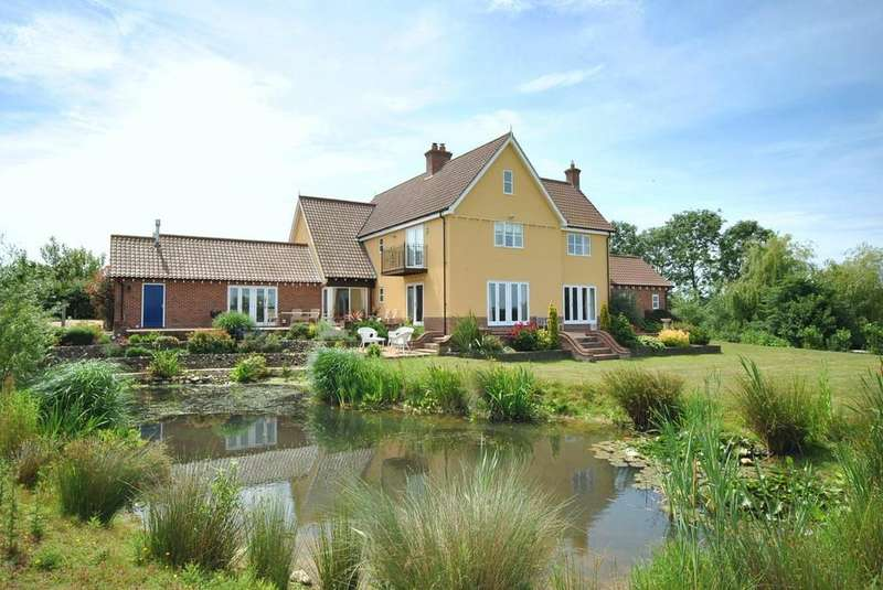 4 Bedrooms Detached House for sale in Syleham Road, Hoxne, Suffolk