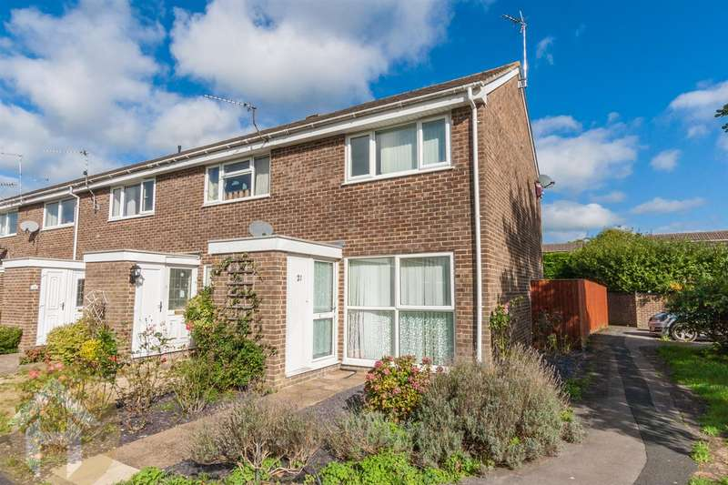 2 Bedrooms End Of Terrace House for sale in Briars Close, Royal Wootton Bassett, Swindon