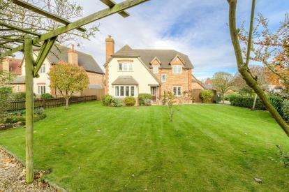 5 Bedrooms Detached House for sale in Fishers Close, Great Barford, Bedfordshire