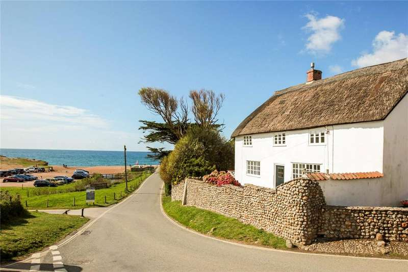 4 Bedrooms Detached House for sale in Seatown, Chideock, Bridport, Dorset, DT6