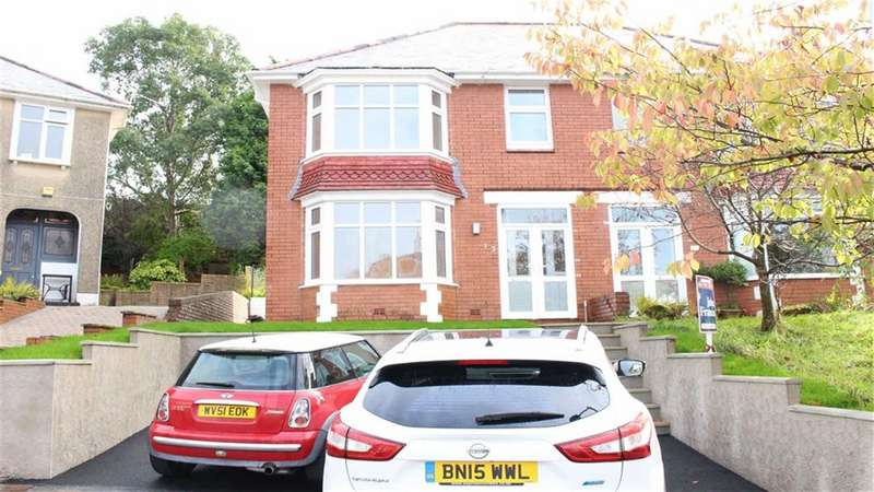 3 Bedrooms Semi Detached House for sale in Llwyn Arosfa, Sketty