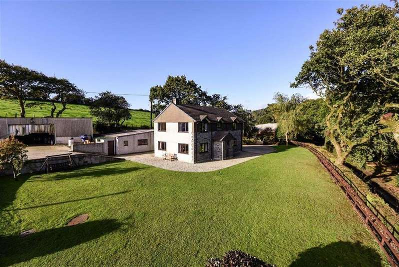 4 Bedrooms Detached House for sale in Cotton Wood, Nanstallon, Bodmin, Cornwall, PL30