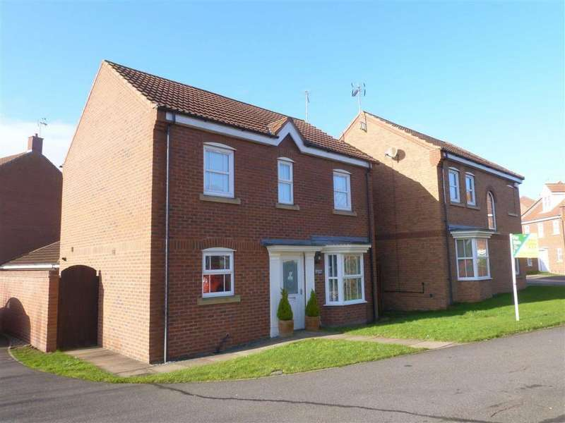4 Bedrooms Detached House for sale in Hanover Drive, Brough