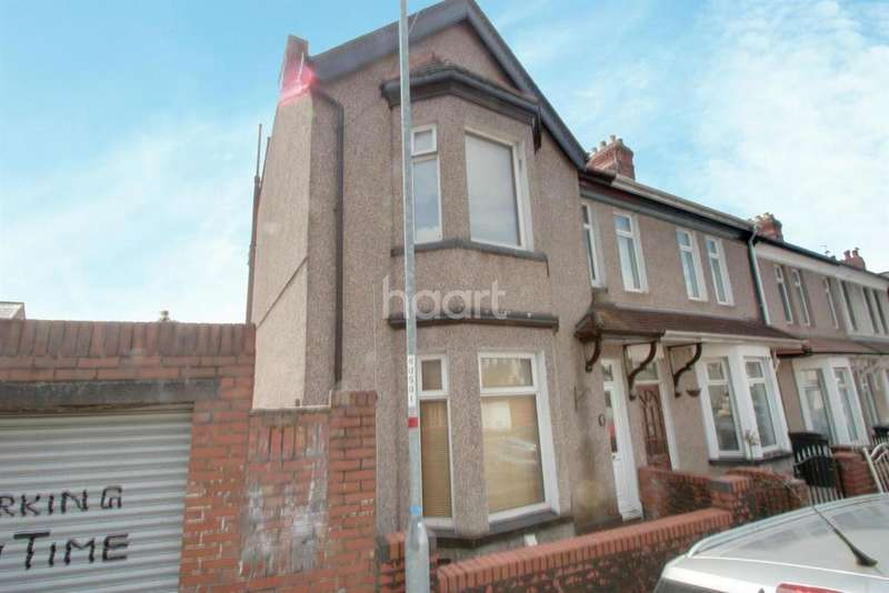 3 Bedrooms End Of Terrace House for sale in Gibbs Road, Beechwood, Newport