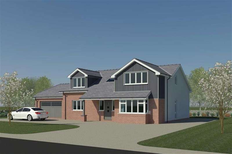 4 Bedrooms Detached House for sale in Land Adj Pen Y Waen, Glanrafon, Llangoed, Anglesey