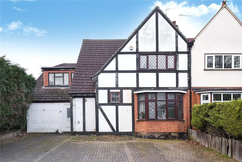 5 Bedrooms Semi Detached House for sale in School Lane, Bushey, Hertfordshire, WD23