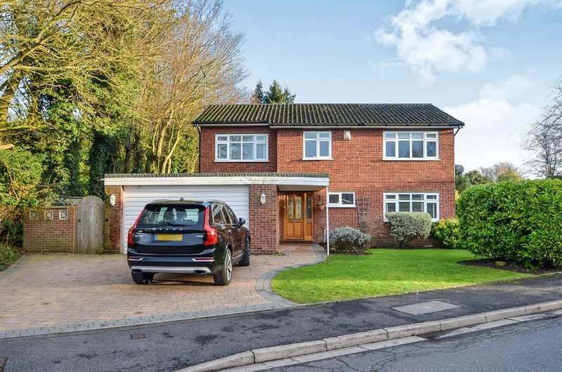 5 Bedrooms Detached House for sale in Waring Way, Dunchurch, Rugby