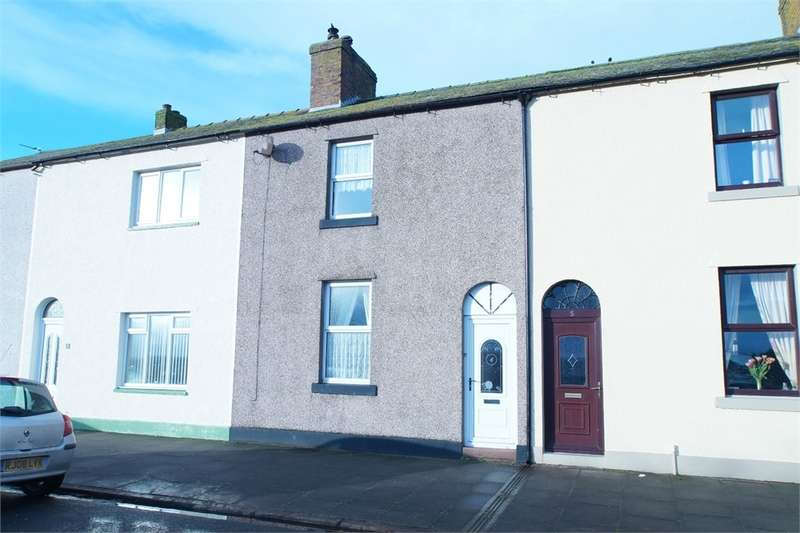 2 Bedrooms Terraced House for sale in CA7 4AU Skiddaw Street, Silloth, Wigton, Cumbria