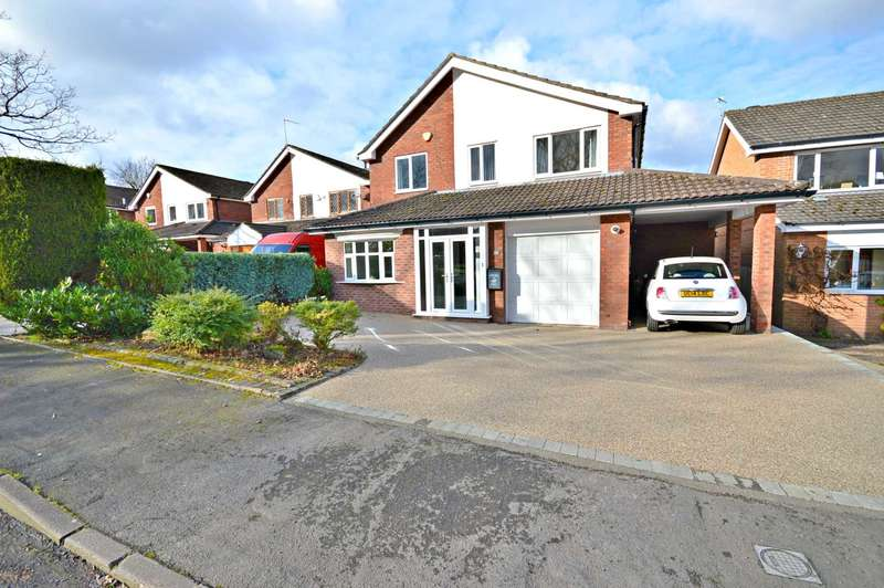 4 Bedrooms Detached House for sale in Cliffmere Close, Cheadle Hulme