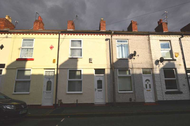 2 Bedrooms Terraced House for rent in Napier Road, New Ferry