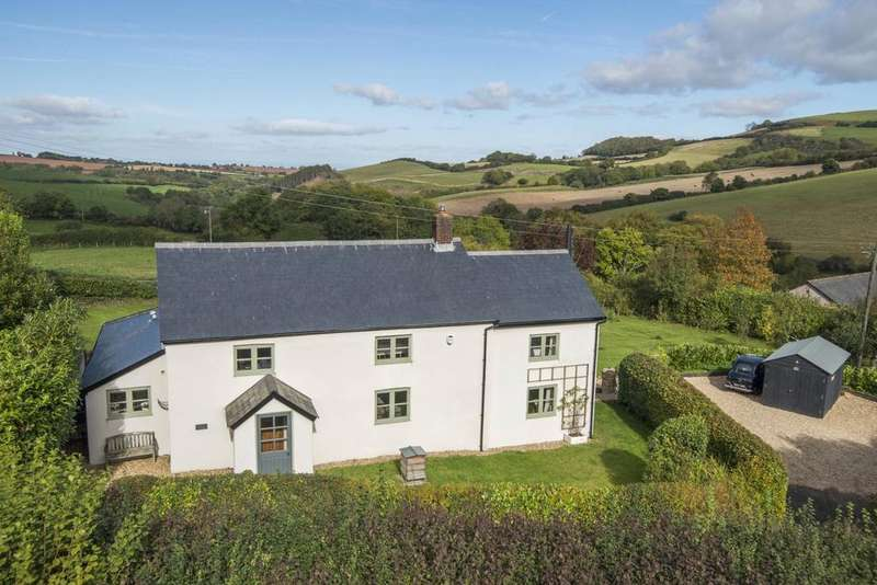 4 Bedrooms Detached House for sale in Leighland, Roadwater, Watchet, Somerset, TA23