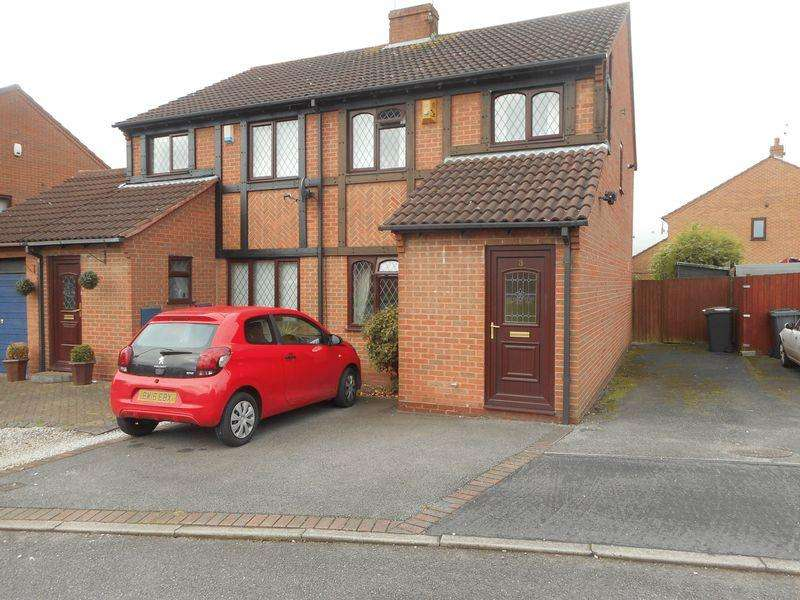 3 Bedrooms Semi Detached House for sale in Sidmouth Close, Nuneaton