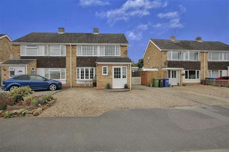 3 Bedrooms Semi Detached House for sale in Horton Road, Middleton Cheney, Oxfordshire, OX17