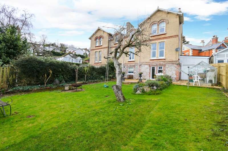 6 Bedrooms Semi Detached House for sale in Ferndale Road, Teignmouth