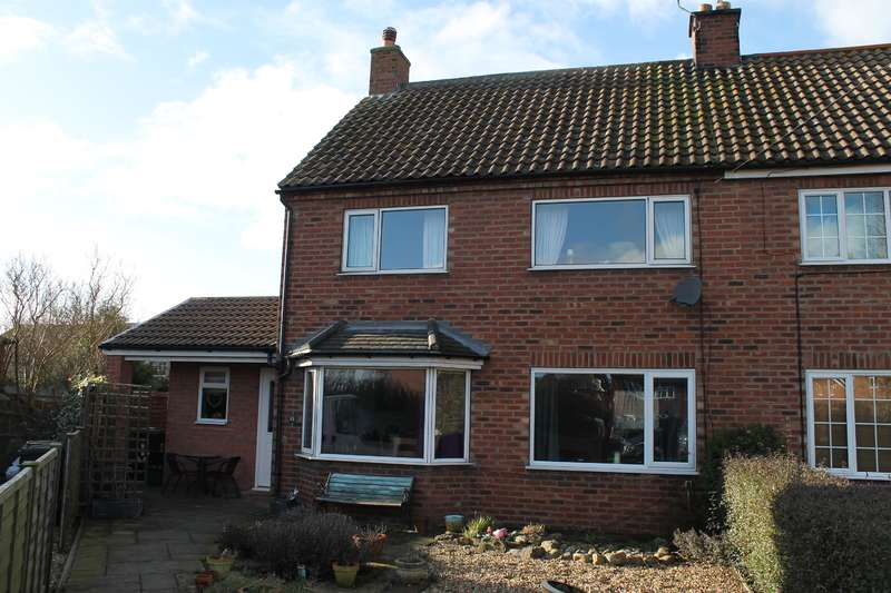 3 Bedrooms Semi Detached House for sale in Mill Lane Avenue, Sheriff Hutton, York, YO60 6SL