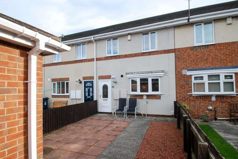 2 Bedrooms Terraced House for sale in August Place, South Shields
