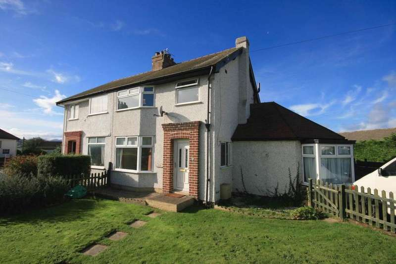3 Bedrooms Semi Detached House for sale in Park Drive, Deganwy, LL31 9YB