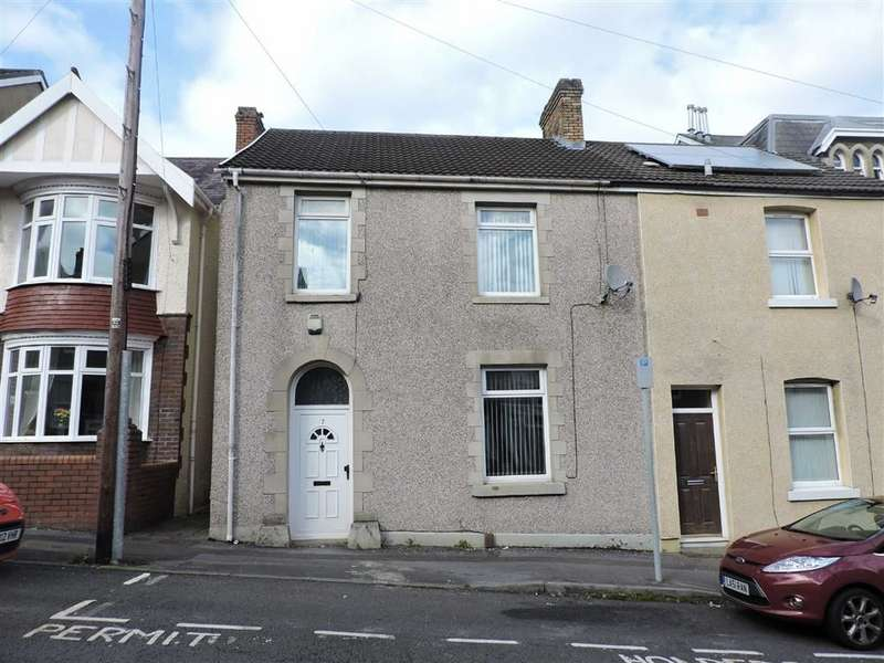 3 Bedrooms End Of Terrace House for sale in Crown Street, Morriston