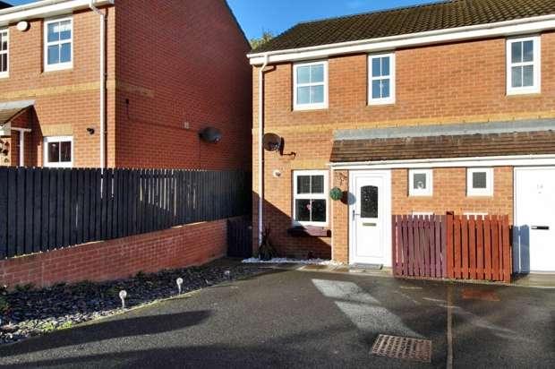 2 Bedrooms Semi Detached House for sale in Newton Grange, Bishop Auckland, Durham, DL14 7RP