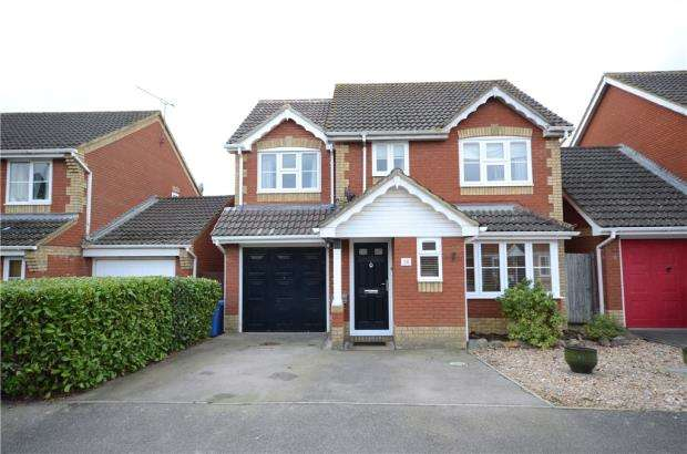 4 Bedrooms Detached House for sale in Whitby Close, Farnborough, Hampshire