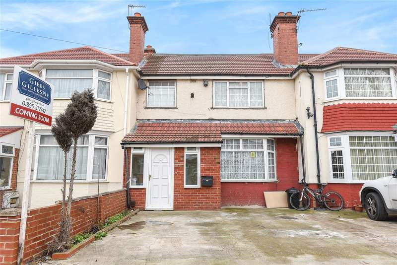 5 Bedrooms Terraced House for sale in Cranborne Waye, Hayes, Middlesex, UB4