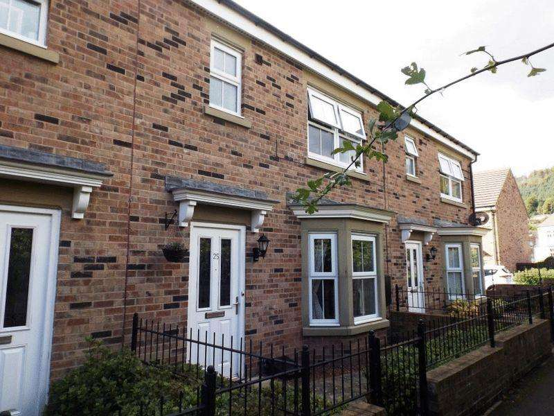 3 Bedrooms Terraced House for sale in Whitton View, Rothbury, Northumberland