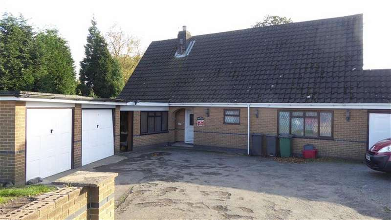 3 Bedrooms Detached Bungalow for sale in Beveridge Lane, Coalville