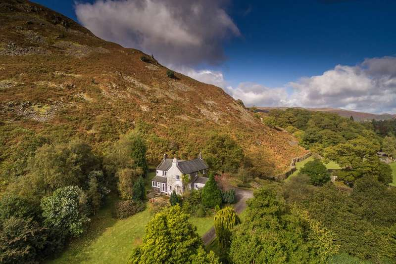5 Bedrooms Detached House for sale in Bleaze End, Patterdale, Cumbria, CA11 0NR