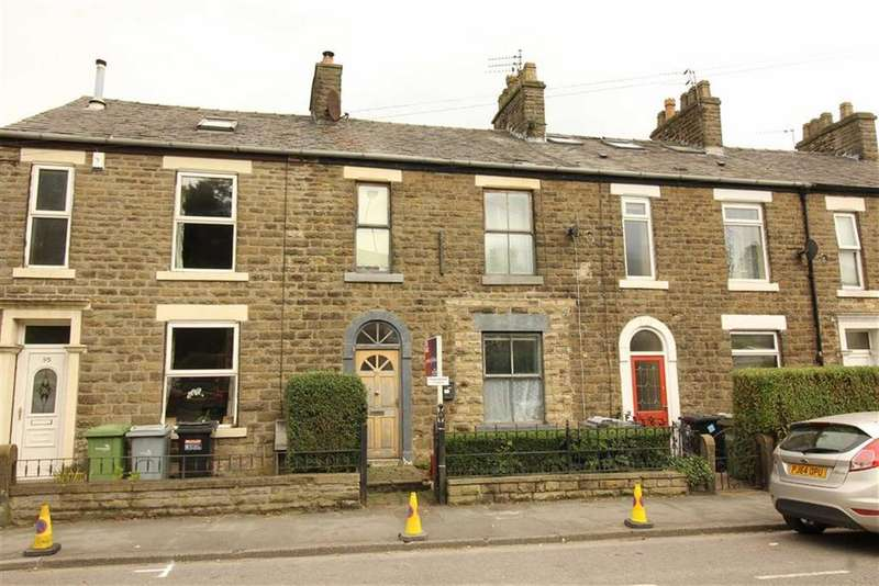 2 Bedrooms Terraced House for sale in Buxton Road, Disley, Stockport, Cheshire