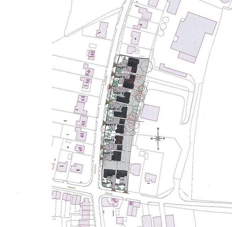Land Commercial for sale in Plot 5, Beckland Hill, East Markham, Newark, Notts.