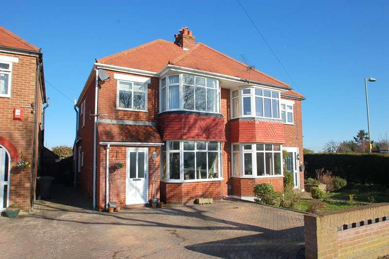 3 Bedrooms Semi Detached House for sale in Bury Hall Lane, Alverstoke, Gosport