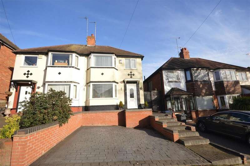 3 Bedrooms Semi Detached House for sale in Gleneagles Road, Birmingham