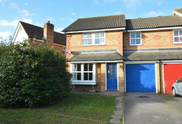 3 Bedrooms Semi Detached House for sale in Hillier Place , Chessington