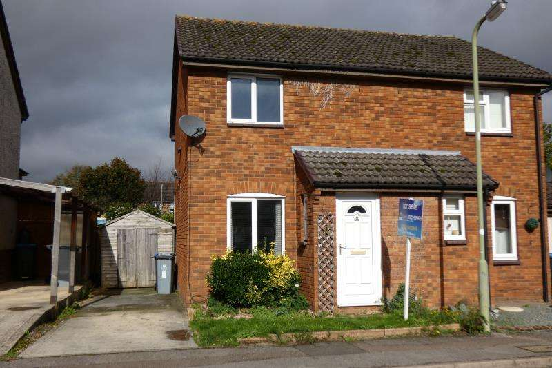 2 Bedrooms Semi Detached House for sale in Bracken Close, Carterton, Oxon