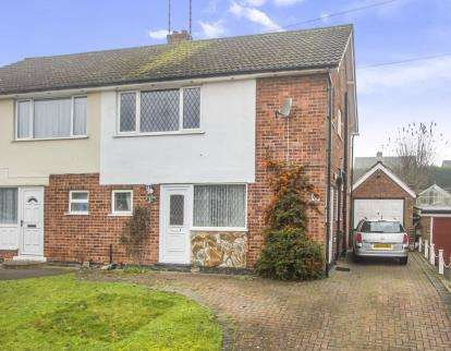 3 Bedrooms Semi Detached House for sale in Loxley Road, Glenfield, Leicester, Leicestershire