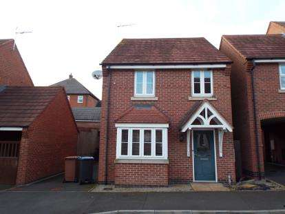 3 Bedrooms Detached House for sale in Champlain Way, Earl Shilton, Leicester, Leicestershire