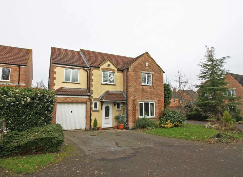 4 Bedrooms Detached House for sale in St. Hildas Close, Didcot