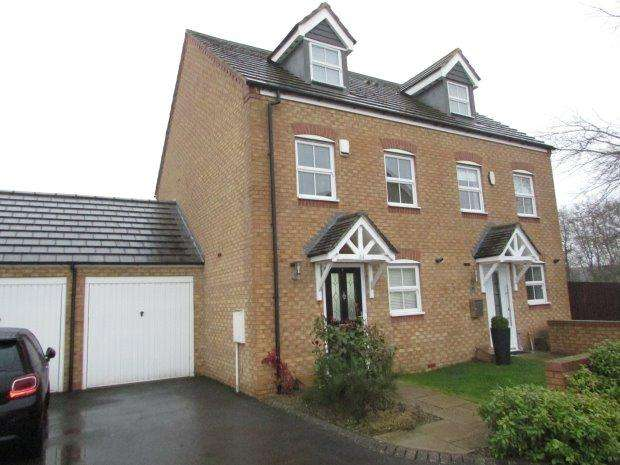 3 Bedrooms Semi Detached House for sale in NORTHBRIDGE PARK, ST HELENS, BISHOP AUCKLAND